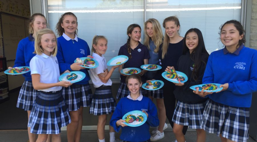 Cooking Elective Creates Rainbow Bagels