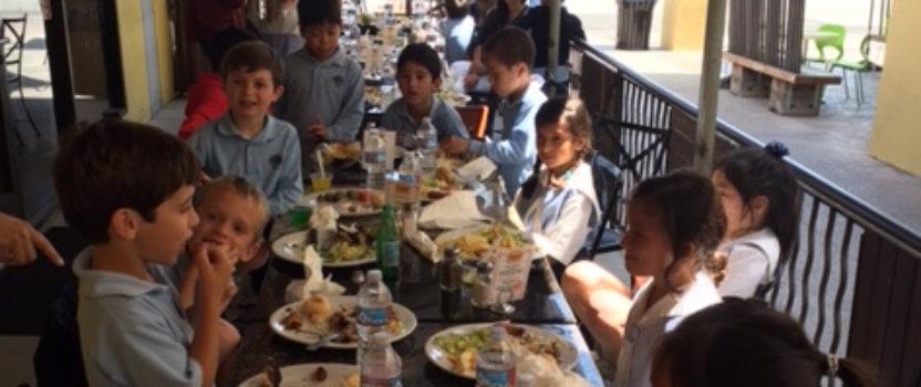First Grade Experiences Brazilian Culture on Field Trip