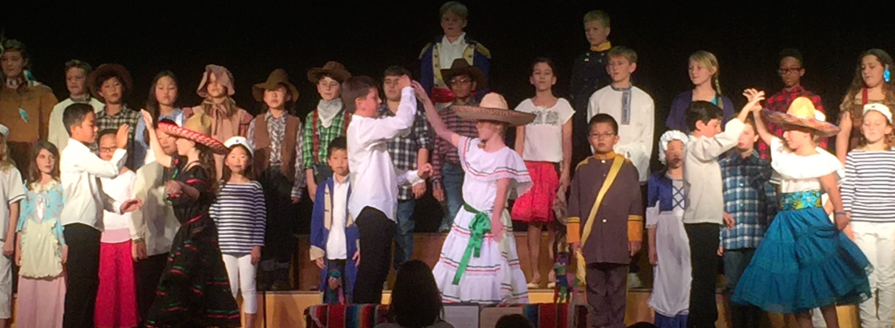 "RHCDS 4th Grade Perform in ""Oh California!"" Program"