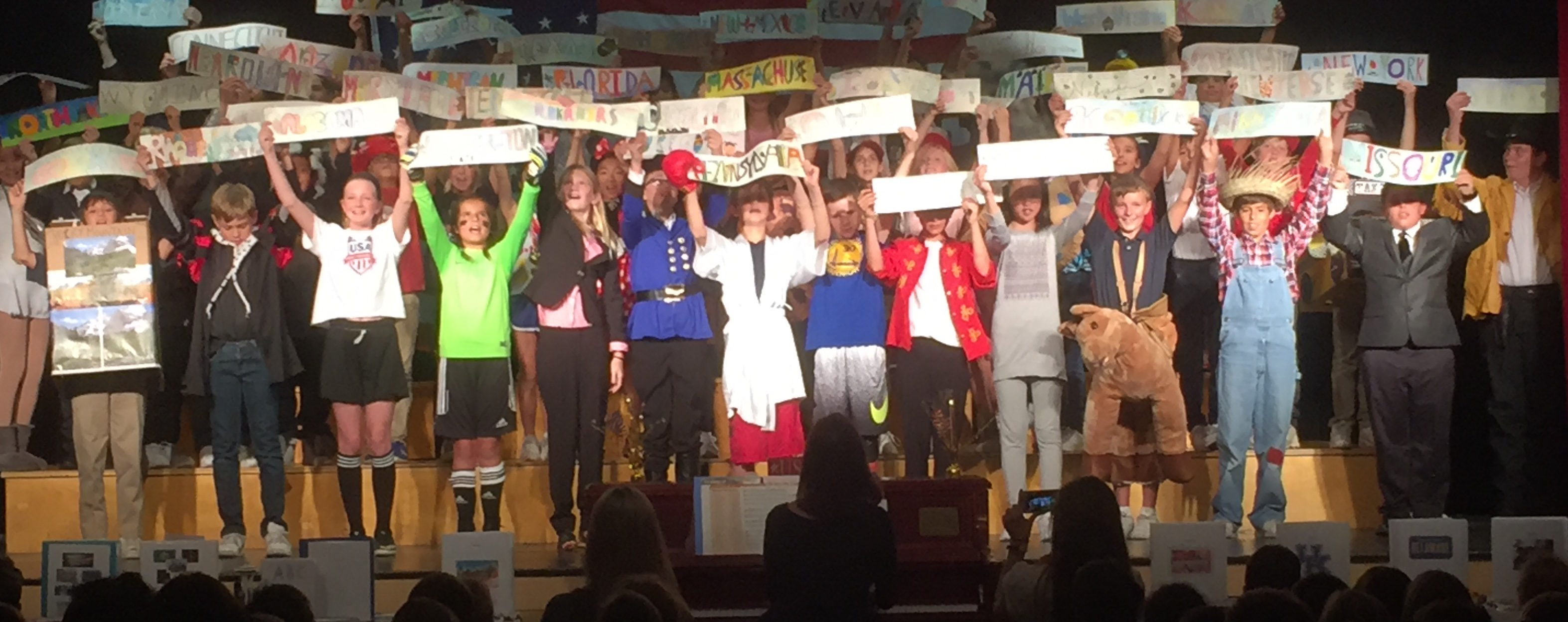 RHCDS Grade 5 Fifty Nifty Performance and State Fair
