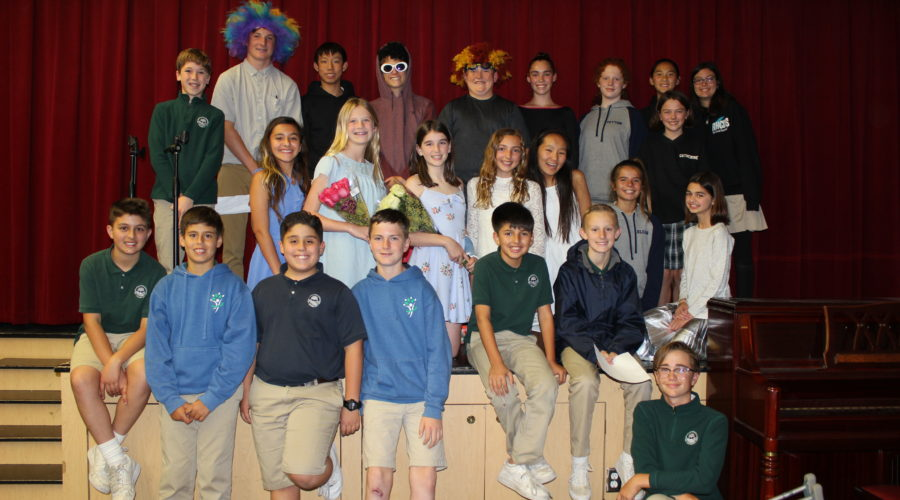 Middle School students participate in 2018 Talent Show!