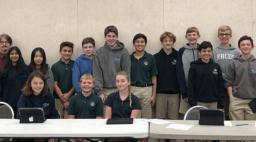 Middle School Students Heading to Regional Science Bowl