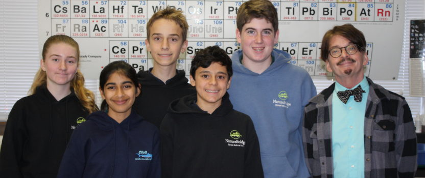 Middle School Students Participate in Science Bowl