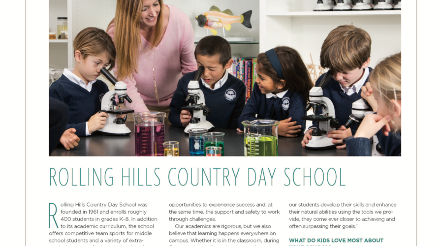 RHCDS Featured in South Bay Magazine!