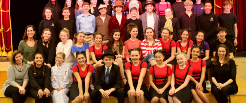 Middle School Students Perform Winter Musical